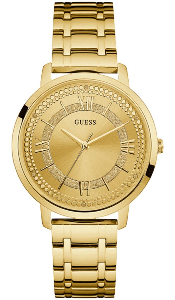 419b2c372014 reloj guess montauk w0933l2 acero dorado para dama original. Cargando zoom.