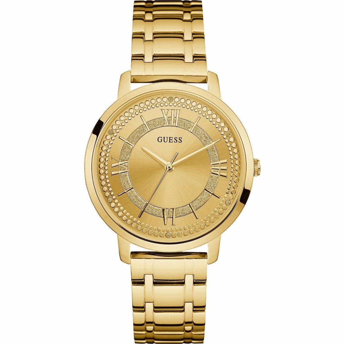 4ee9962d588b reloj guess montauk w0933l2 acero dorado para dama original . Cargando zoom.
