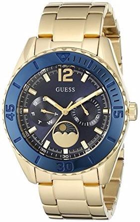 Reloj Guess Moonstruck Dama Oro azul Rey Multidial W0565l4 ... 8d632d73f2e8