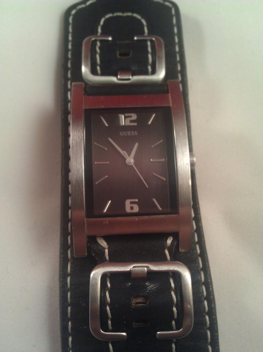 b940c3327e74 Reloj Guess Mujer Dama Cuero Negro G75734g Exclusivo -   75.000 en ...