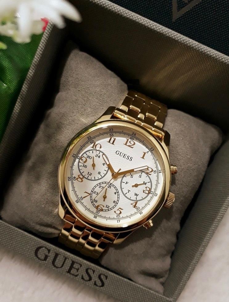 e32142c13b8b reloj guess mujer dorado cronografo u1018l2. Cargando zoom.