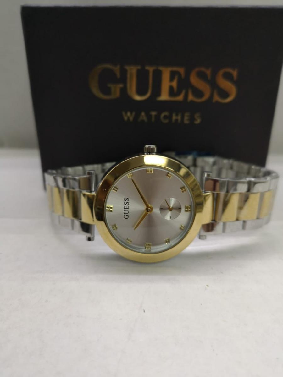 Reloj Guess Mujer Metalico Clasico -   75.000 en Mercado Libre 8c2cd158b1fc