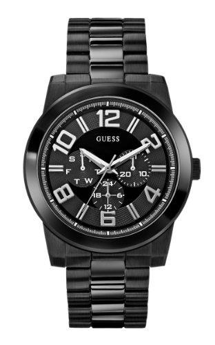 Reloj U0264g3 Multifuncional Para Color Guess Hombre Negro 3TlJ1c5uFK