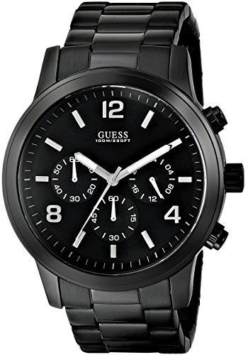 Guess Negro Reloj Para Hombre U15061g1 Deportivo wmn0v8OyN