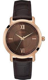 Correa W0793g3 Reloj Cuero Con De Y Hombre Guess Para Caja mvOy0wNnP8