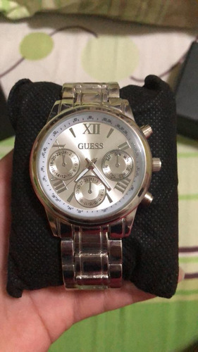reloj guess stainless steel black