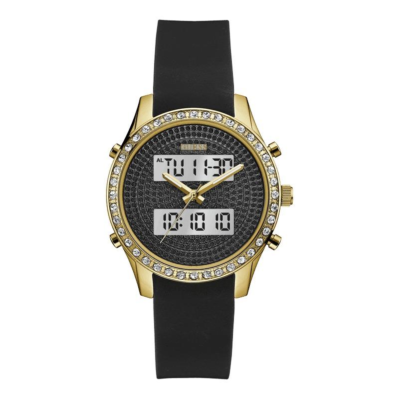 45b10ed6d346 Reloj Guess W0818l2 Negro Para Dama Digital Analogo Original ...