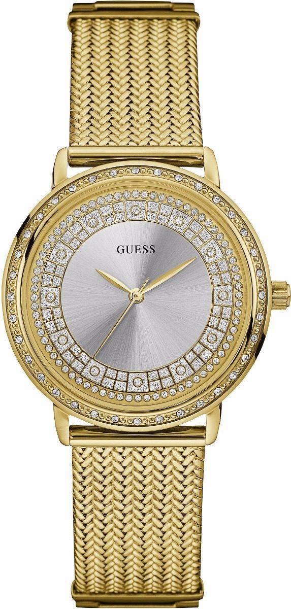 03b19cfb5fb1 reloj guess w0836l3 para dama dorado con brillantes original. Cargando zoom.