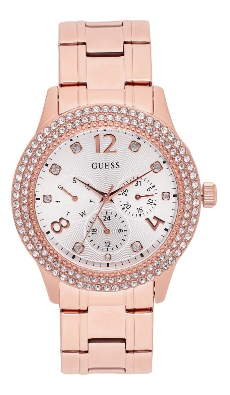 Para Oro Dama W1097l3 Reloj Guess Rosa lcT1uJFK3