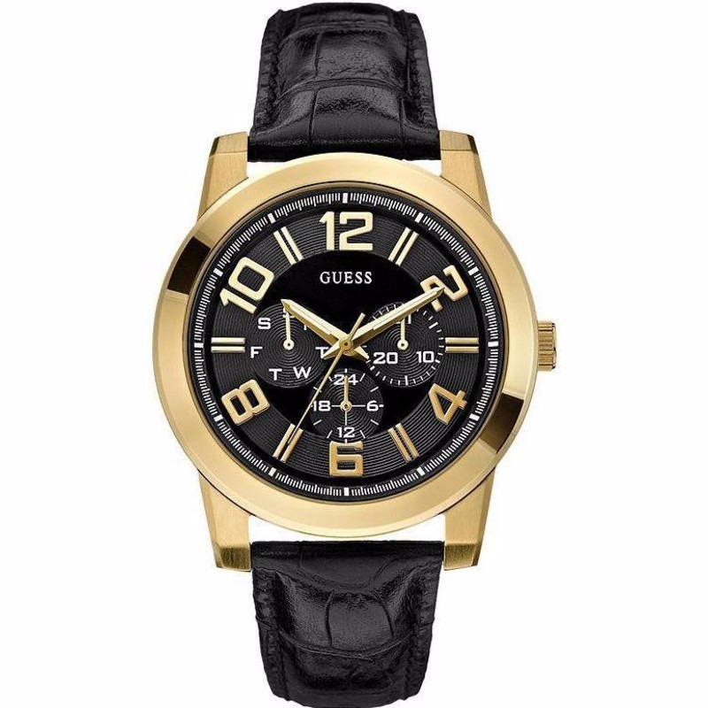 Reloj Guess Wafer U0265g2 Original Cuero Hombre -   450.000 en ... 986da714d9e5