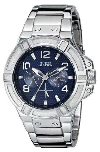 reloj guess wg32 plateado
