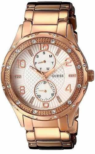 reloj guess wg701 dorado femenino
