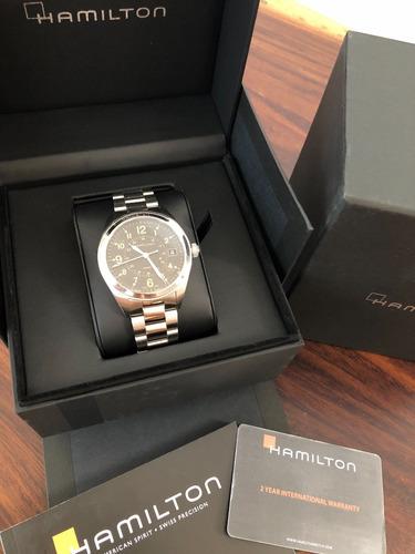 reloj hamilton 100% original, totalmente nuevo.