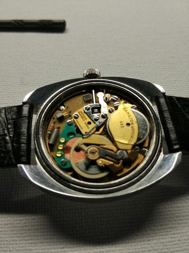 reloj hamilton eléctrico - vintage de colección no omega