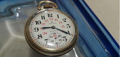 reloj hamilton ferrocarrilero