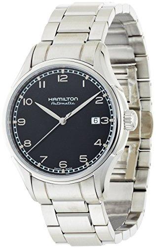 reloj hamilton  h plateado