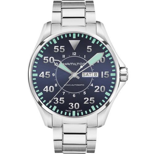 reloj hamilton khaki aviation pilot auto h64715145 ghiberti