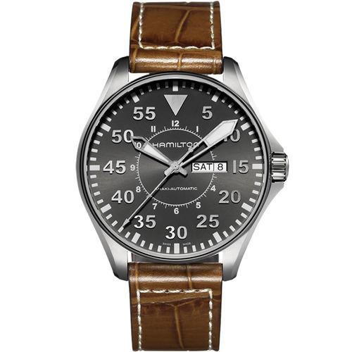 reloj hamilton khaki aviation pilot auto h64715885 ghiberti