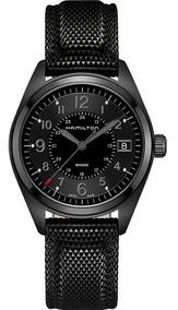Khaki Quartz H68401735 Field Ghiberti Hamilton Reloj pGqzSVMU