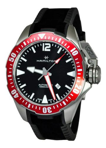 reloj hamilton khaki navy khaki navy h77805335  ghiberti