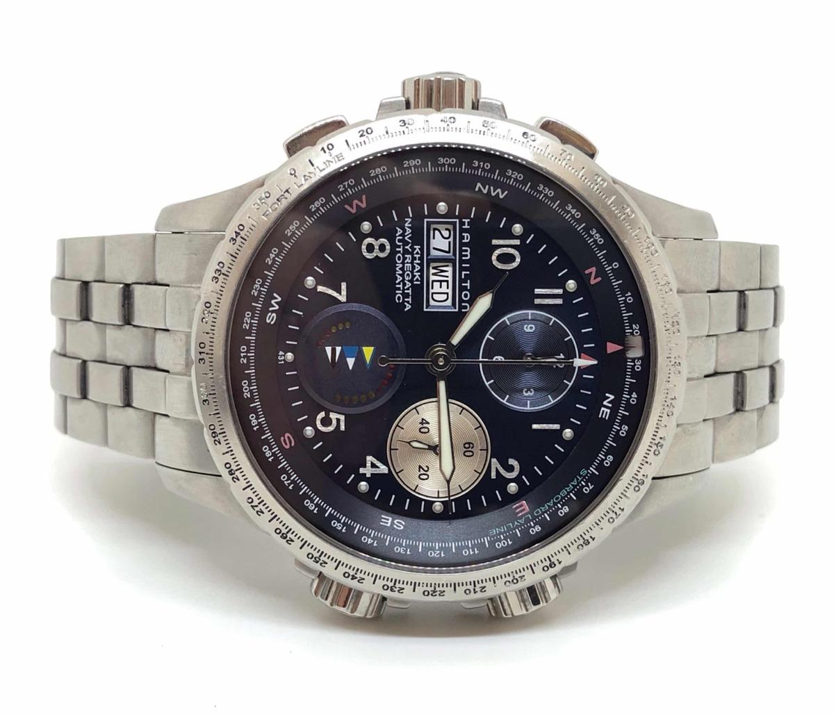 Khaki Hamilton Navy 000 Reloj 00 Regatta45 XikuOPZ