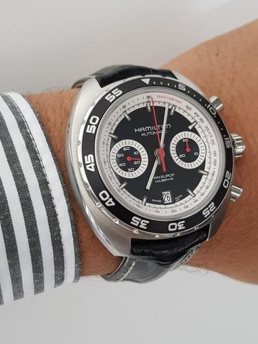 Hamilton 000 Europ 000 Cal h313 Reloj Pan oedxCB