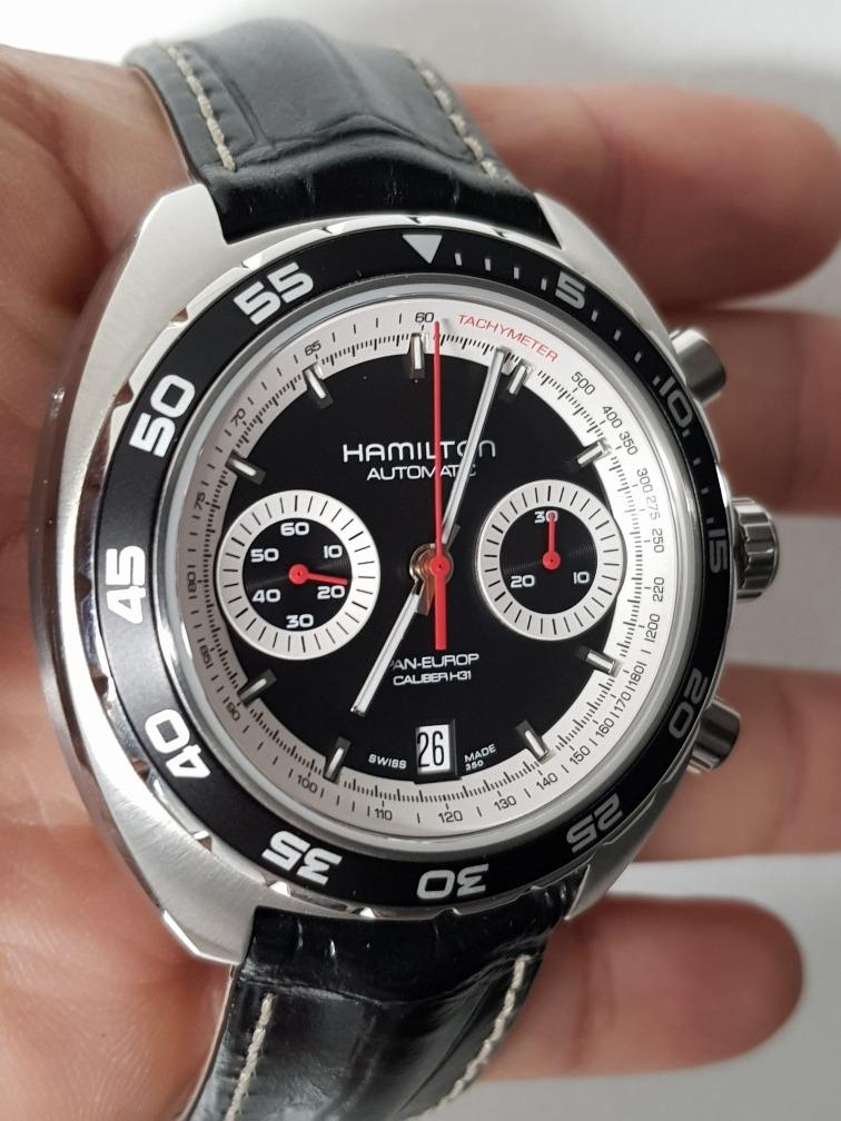Europ Pan 000 Cal Reloj Hamilton h313 000 8PnwOk0X