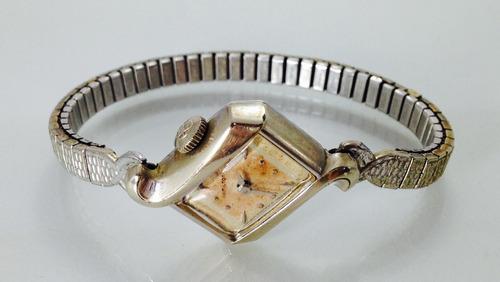 reloj hamilton para dama vintange (inv 675)