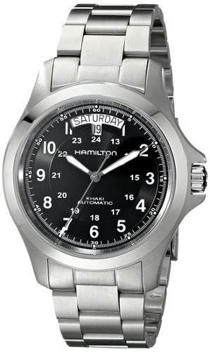 reloj hamilton wh442 plateado