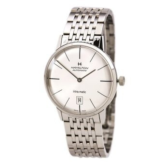 reloj hamilton wh443 plateado