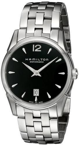 reloj hamilton  wh640 plateado