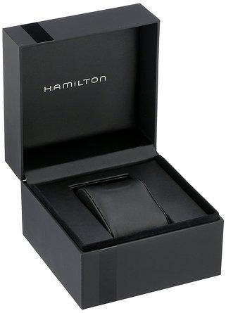 reloj hamilton wh710 plateado