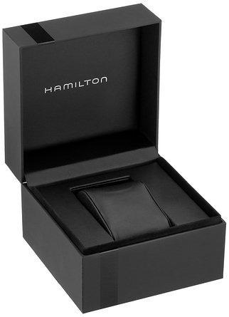 reloj hamilton wh72 plateado