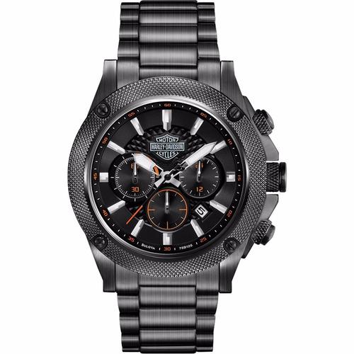 reloj harley davidson 78b127 tienda oficial bulova