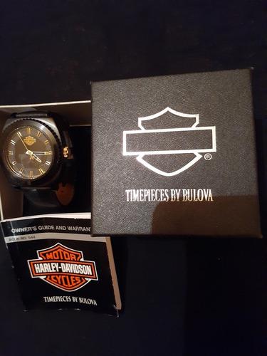 reloj harley davidson bulova78b129