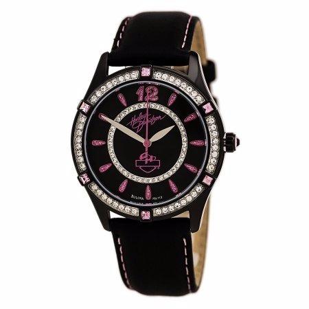 reloj harley davidson by bulova 38mm 78l113 rem*jcvboutique*