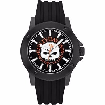 reloj harley davidson by bulova 78a115 43mm *jcvboutique*