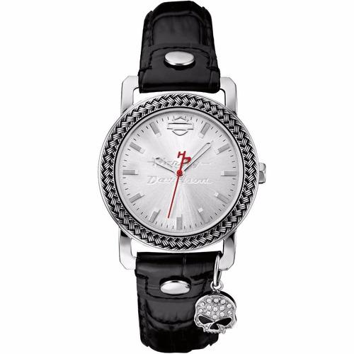 reloj harley davidson by bulova original para dama 76l173