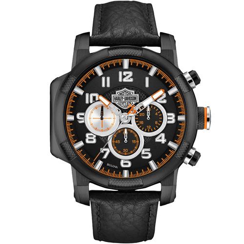 reloj harley davidson by bulova para hombre 78b139