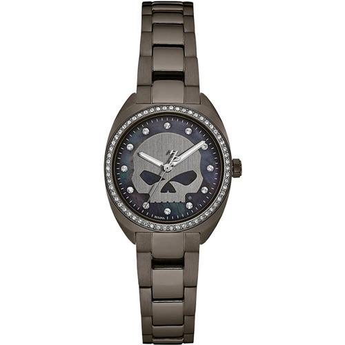 reloj harley davidson oil slick 78l124 tienda oficial bulova