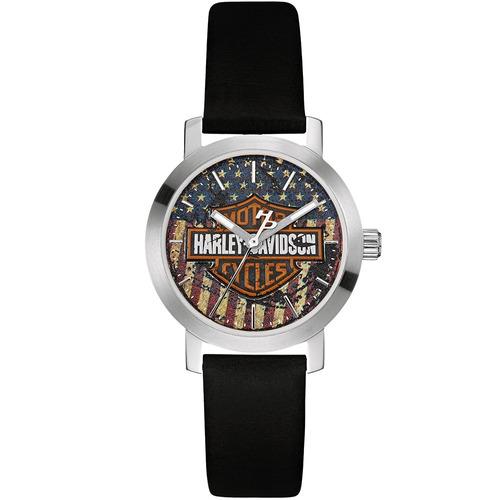 reloj harley davidson original para mujer  76l174