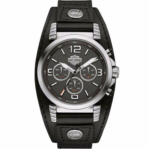 reloj harley davidson road king 76b173 envío gratis e-watch