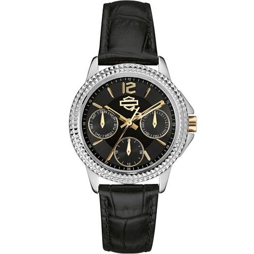 reloj harley davidson women's 78n100 tienda oficial bulova