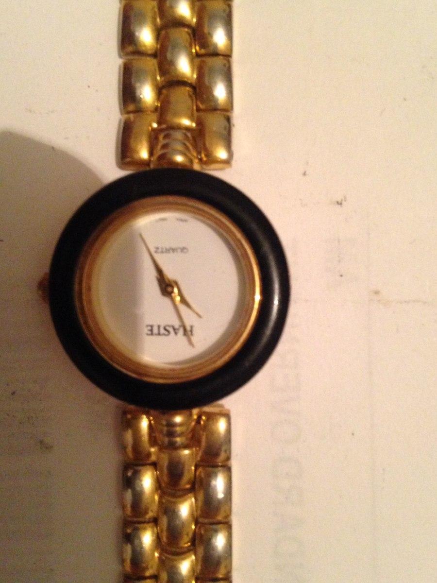 Reloj Haste Dama Dorado -   350.00 en Mercado Libre 57fabecdb7d3
