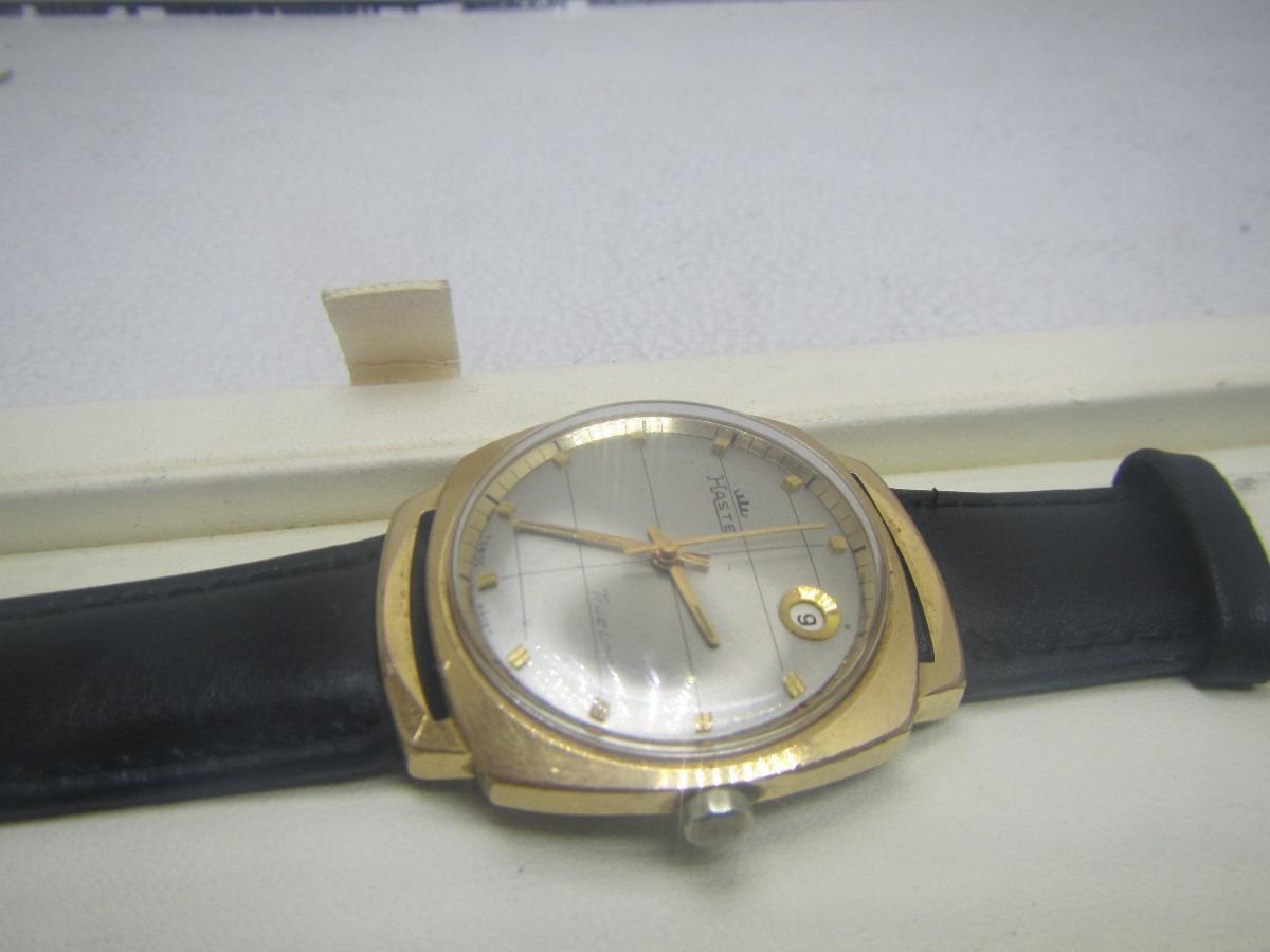 Reloj Haste Fortis Skyliner Automatico Vintage Chapa De