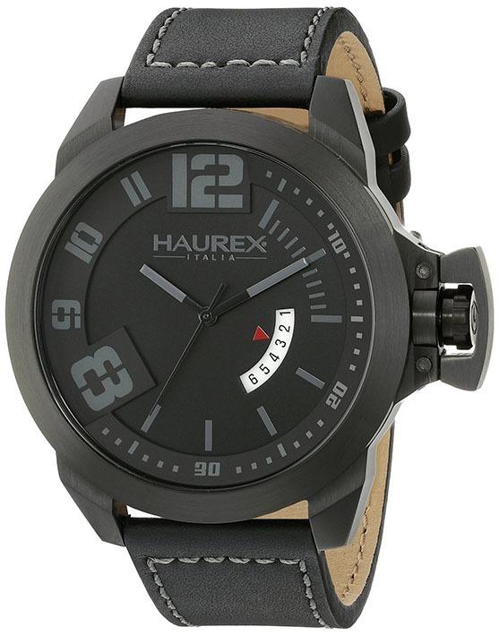 c2cfdc067fce Reloj Haurex Italy Negro Original Nuevo Black Stainless Stee ...