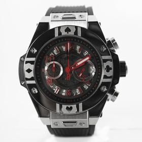 Reloj Hb Edición Especial Poker World Tour Plata