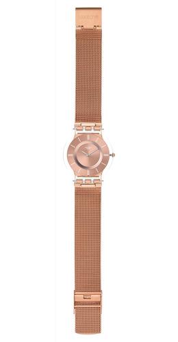 reloj hello darling oro rosado swatch