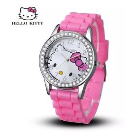 Reloj Hello Kitty Con Correas De Goma