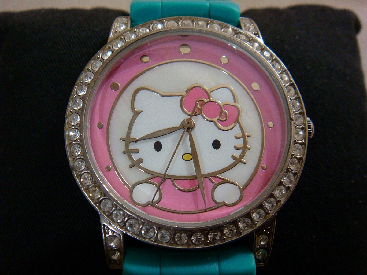 d87e664b25ed Reloj Hello Kitty Producto Sanrio Co. 100% Original. -   449.00 en ...